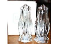 Mikasa Icicles Salt & Pepper Set -New and in Box