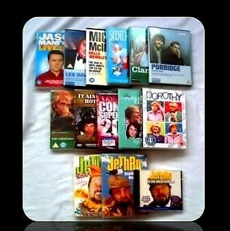 COMEDY DVDS & CD - 17 ITEMS - FOR SALE