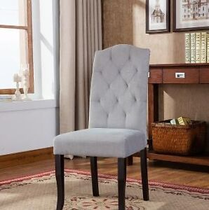 Dining chairs,  $99 each to $179 each. In stock, over 20 models