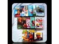 COMEDY BUNDLE - DVDs/AUDIO CD - 17 ITEMS - FOR SALE