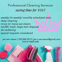 Klean Kween Professional Cleaning Services To Save Time For YOU