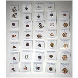 Lot of 34 NHL Team collector pins from the early 90's Box-5 Kitchener / Waterloo Kitchener Area image 1