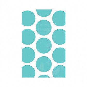 Candy Buffet Robins Egg Blue Polka Dot Paper Treat Bags x 10