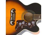 Epiphone EJ200 electric acoustic guitar