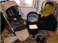 Mamas And Papas Urbo Pram And Pushchair Huge Package