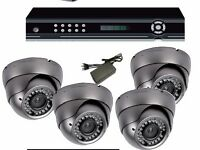 CCTV KIT: CAMERAS+DVR+HARDRIVE £350