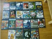 Job lot of ps2 games Nintendo ds lite and 10 games xbox guitar hero