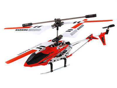 Syma S107G 3 Channel RC Radio Remote Control Helicopter with Gyro - RED on Rummage