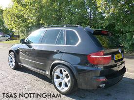 2008 *58* BMW X5 3.0D Auto SE Black Damaged Salvage