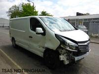 2015 Vauxhall Vivaro 1.6 CDTi 115 Sportive 2900 L2H1 Damage Salvage CAT D NO VAT
