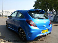 2012 Vauxhall Corsa VXR 1.6i 16v Turbo 192 Blue Damaged Salvage
