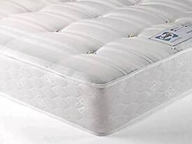 Single divan bed and sealy backcare mattress