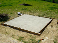 NEED CONCRETE / CEMENT FOR HOT TUB PAD OR POOL PROJECT?