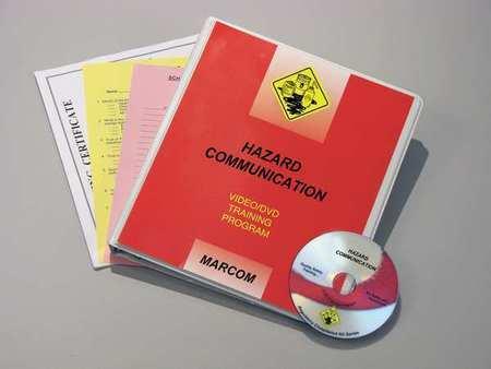 MARCOM V0001659SO Training DVD,Hazard Communication
