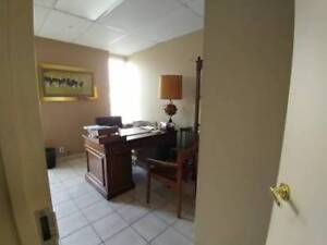 Office for rent  . Turnkey rental space available .