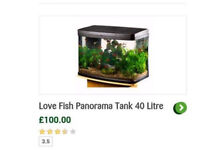 Brand new 40 litre fish tank