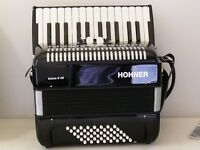 HOHNER BRAVO II Accordion Original Case