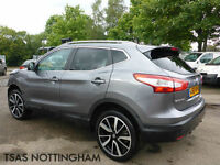2015 *65* Nissan Qashqai 1.5 DCi 110 Glass Roof Tekna Damaged Salvage CAT D