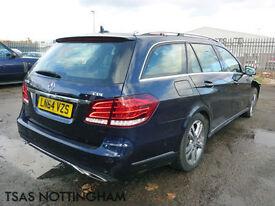 2014 *64* Mercedes-Benz E Class E250 CDI 204 7G-Tronic+ Damaged Salvage CAT D
