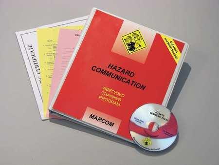 MARCOM V0001689SO Training DVD,Hazard Communication