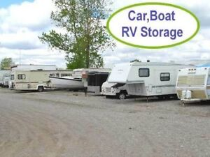 OUTDOOR VEHICLE STORAGE ONLY $35/MONTH