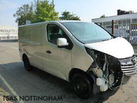 2014 *64* Vauxhall Vivaro 1.6 CDTi 115 Sportive 2700 L1H1 Damaged Salvage CAT D