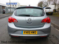 2015 Vauxhall Astra 1.6 CDTi 110 ecoFLEX Tech Line Damaged Salvage CAT D