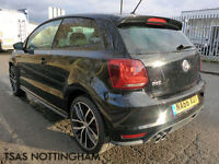 2016 *66* Volkswagen Polo GTi 1.8 TSI 192 BMT Damaged Salvage CAT D