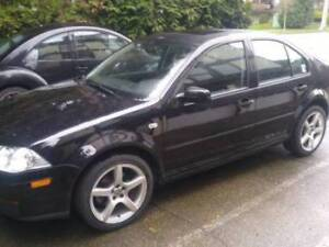 2008 black Volkswagen jetta city $1,300.00