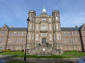 Two bedroomed flat to rent, Dundee Royal Infirmary building