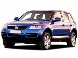 2006 VOLKSWAGEN TOUAREG 2.5 TDI SE 5dr DIESEL AUTOMATIC