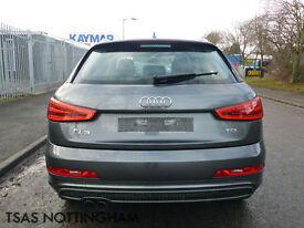 2014 *64* Audi Q3 2.0 TDI 140 S Line Grey Damaged Salvage