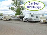 Outdoor Car, Boat and RV Storage