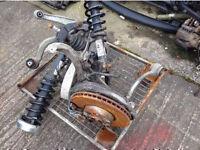 BMW X5 X6 E70 07-14 FRONT REAR DISCS ARMS BRAKES AXLES HUB