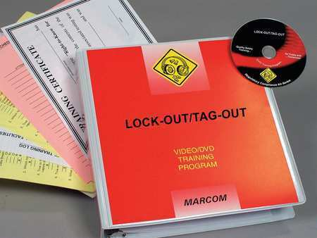 MARCOM V0000699EO Lock-Out/Tag-Out DVD Program