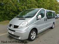 2011 Renault Trafic LL29 Sport DCI 115 Passenger 9 Seater Damaged Salvage CAT D