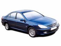 PEUGEOT 607 2.2 HDi S 4dr Auto (blue) 2004