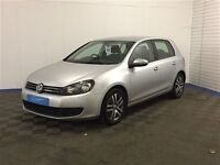 Volkswagen GOLF S TSI S-A-Finance Available to People on Benefits and Poor Credit Histories-