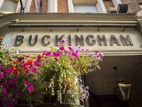The Bucks recruiting bar staff