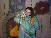 Robe et bonnet Eugenie (E202)