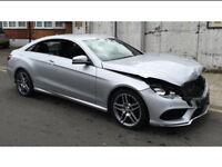 Sell Your Salvage or Scrap? Mercedes A C E S Class E350 E220 C63 BMW 1 2 3 4 5 Series 120D 320D 520D