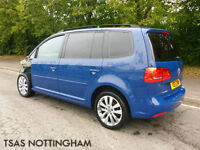 2011 Volkswagen Touran 1.6 TDI 7 ST 105 S MPV Damaged Salvage 100% NOT RECORDED