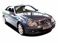 MERCEDES-BENZ CLK 320 CDi Avantgarde 2dr Tip Auto (black) 2006