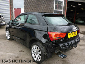 2014 Audi A1 Sport 1.4 TFSI 122 Black Damaged Salvage