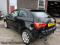 2014 Audi A1 Sport 1.4 TFSI 122 Black Damaged Salvage