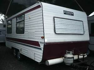 1985 Evernew Deluxe caravan Nanango South Burnett Area Preview