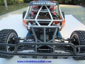 New RC Trophy Truck Brushless Electric,1/10 Scale LIPO 2,.4G RTR Kitchener / Waterloo Kitchener Area image 9