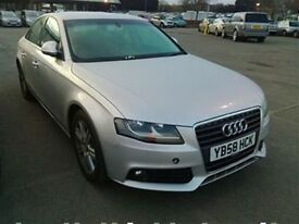 Audi A4 SE TFSI 6SP-Finance Available to People on Benefits and Poor Credit Histories-