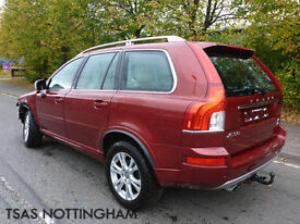2013 Volvo XC90 2.4D D5 AWD 200 Bhp Geartronic SE Lux Damaged Salvage CAT D
