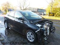2014 *64* Ford Focus TDCi Titanium Navigator ECOnetic Damaged Salvage CAT D